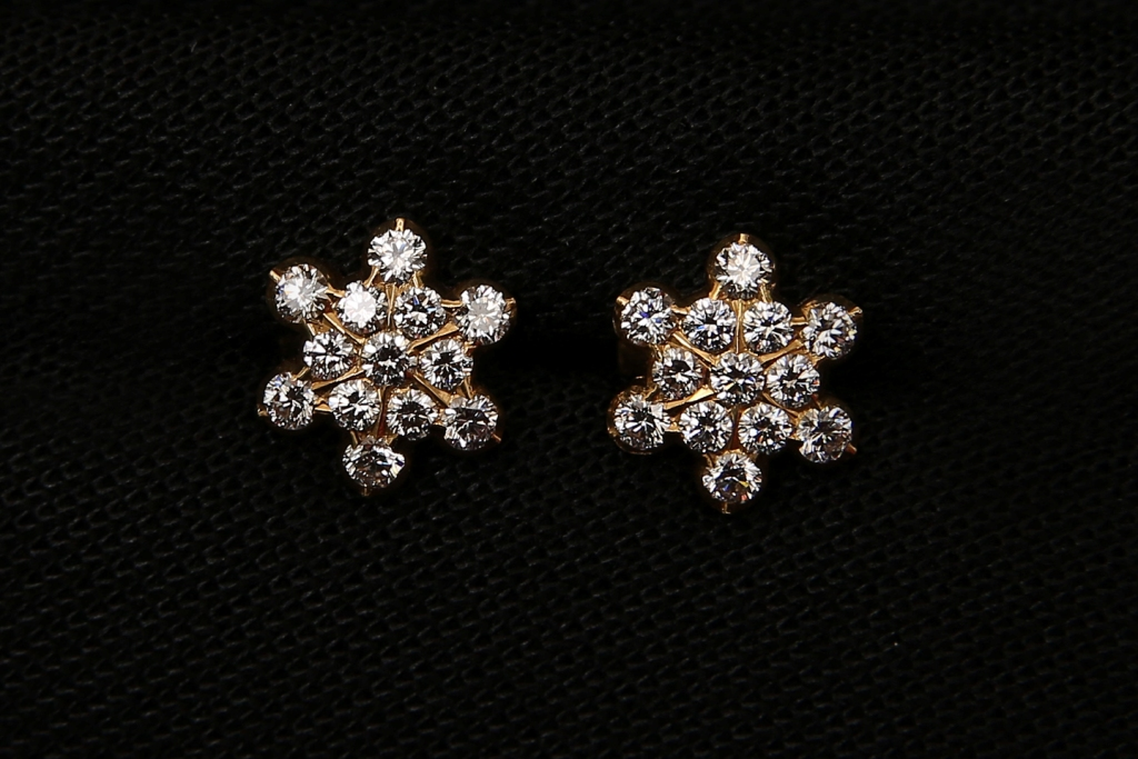 Chettinadu Diamond Earrings And Karaikudi Are Best In Maganlal Mehta Corp Ltd Chennai